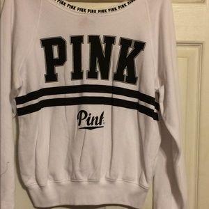 Off Shoulder PINK Sweatshirt-NWOT